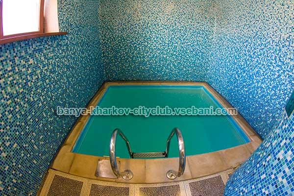 Сауна City Club - бассейн